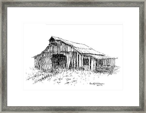 Given Up To Nature Framed Print