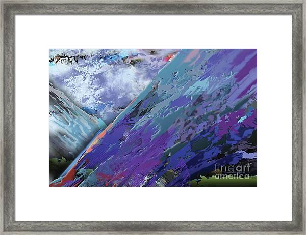 Glacial Vision Framed Print