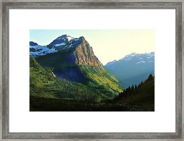 Glacier National Park 2 Framed Print