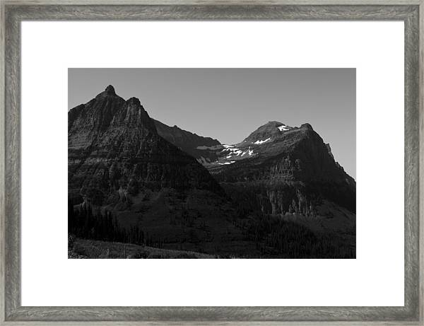 Glacier National Park 2 Framed Print
