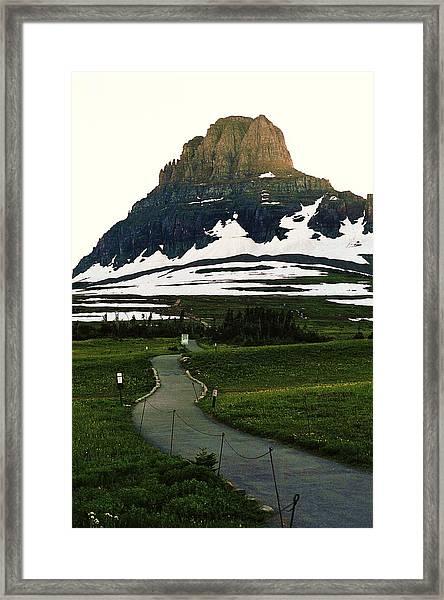 Glacier National Park 8 Framed Print