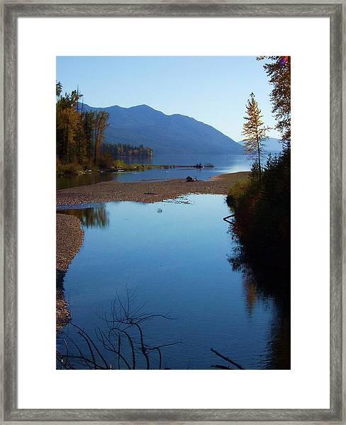 Glacier Park 10 Framed Print