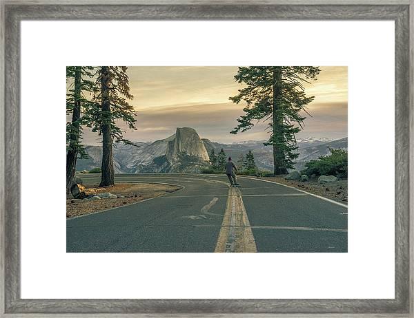 Glacier Point Adventure Framed Print