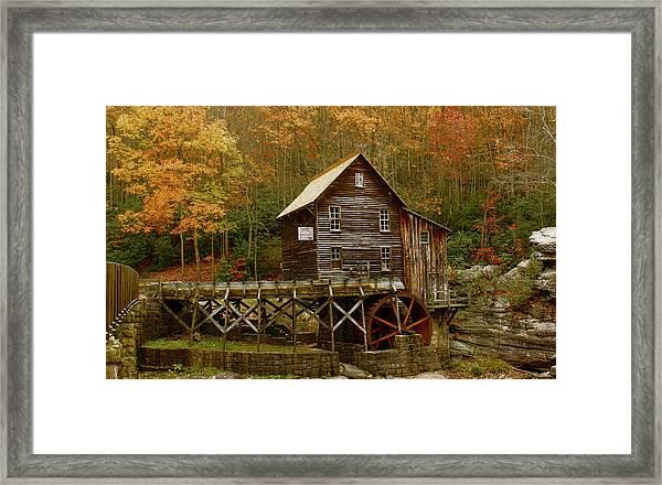 Glade Grist Mill Framed Print