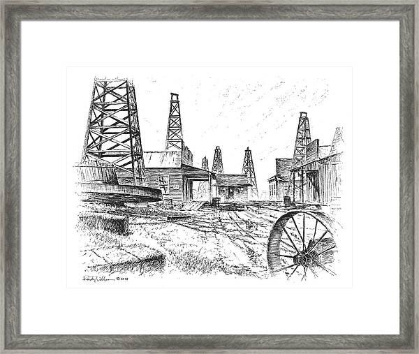 Gladys City Framed Print
