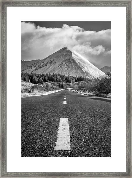 Glamaig Framed Print