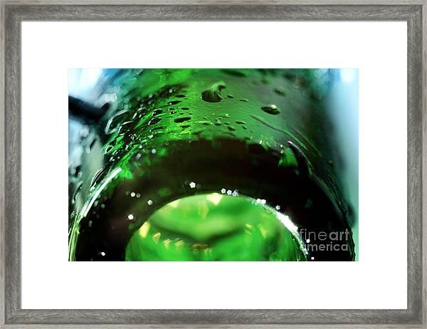 Glass Framed Print