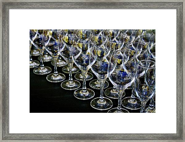Glass Soldiers Framed Print