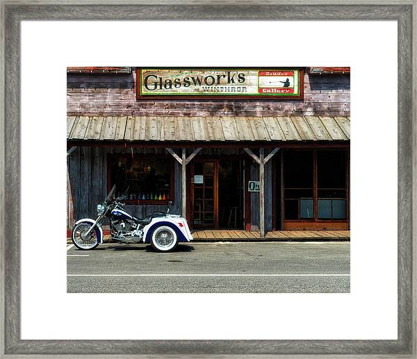 Glassworks Framed Print