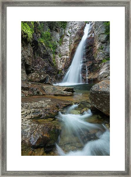 Glen Ellis Falls  Framed Print