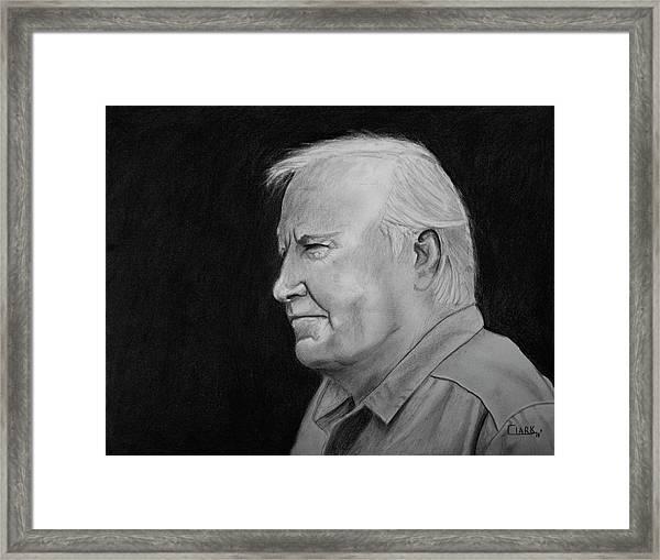 Glen Framed Print