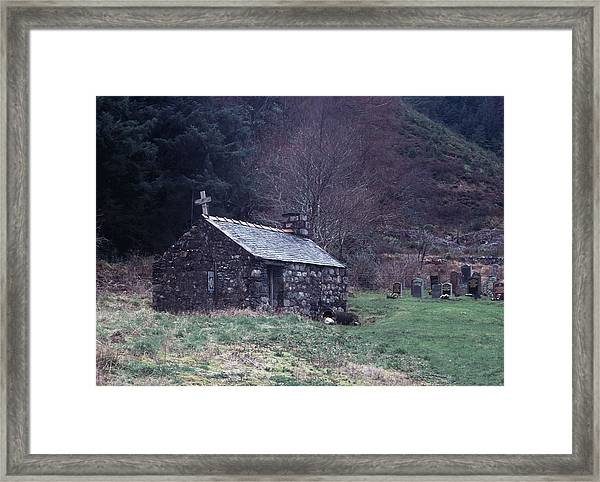 Glencoe Chapel Framed Print
