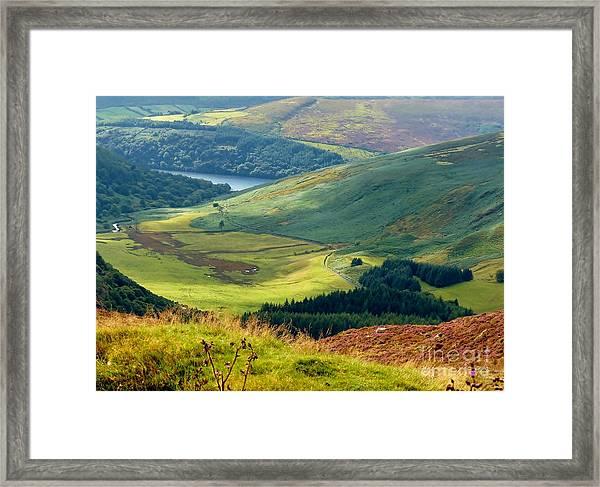 Glendalough Valley, County Wicklow Framed Print