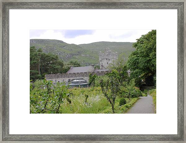 Glenveagh Castle Gardens 4287 Framed Print