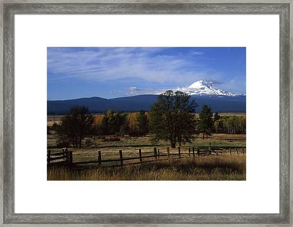 Glenwood Autumn Framed Print