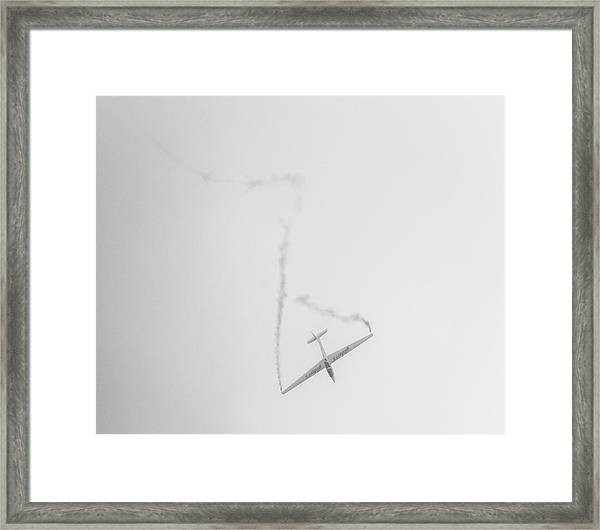 Gliders Framed Print