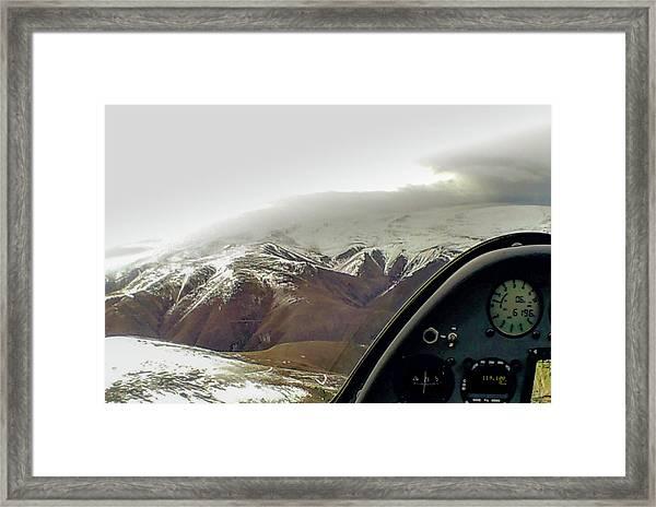 Gliding Framed Print by Patrick Flynn