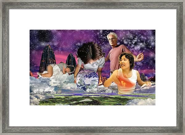 Global Dreaming Framed Print