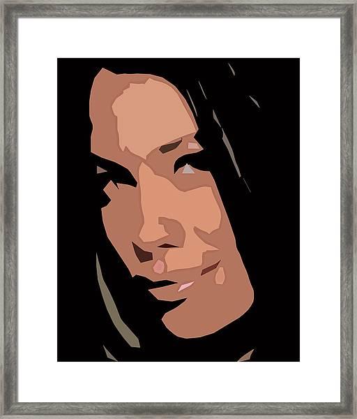 Gloria Framed Print
