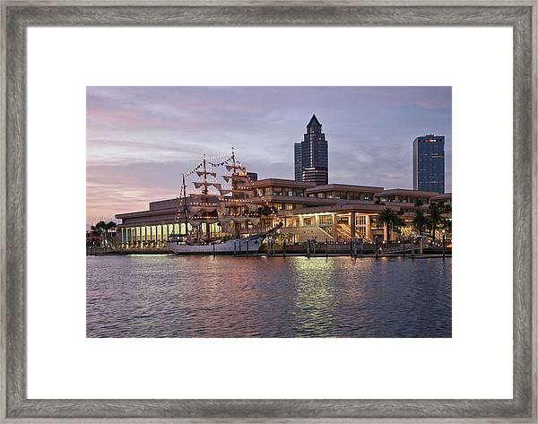 Gloria Visiting Tampa Framed Print