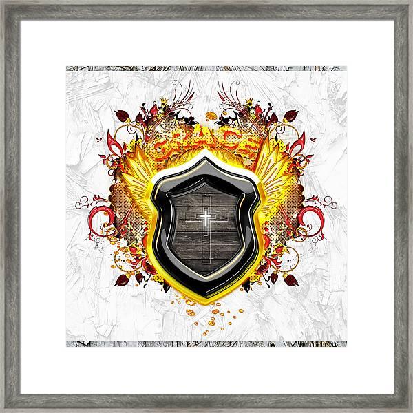 Glorious Grace Framed Print