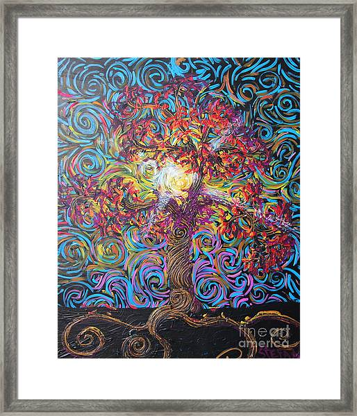 Glow Of Love Framed Print