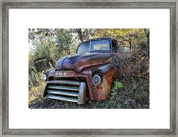 Gmc Truck Framed Print