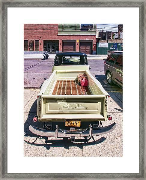 Gmc3 Framed Print