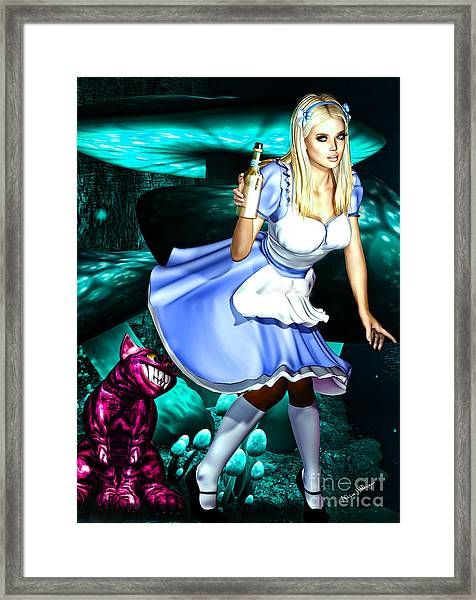 Go Ask Alice Framed Print