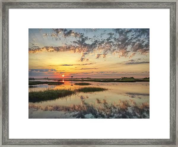 Sunrise Sunset Photo Art - Go In Grace Framed Print