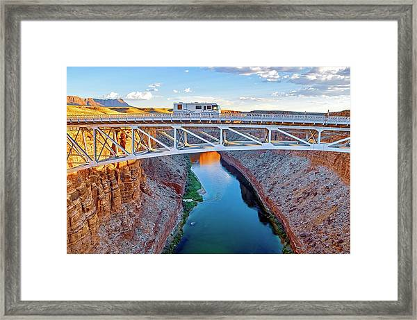 Go West Framed Print