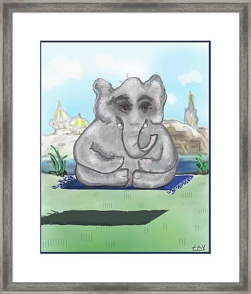 Go Zen, Baby Framed Print