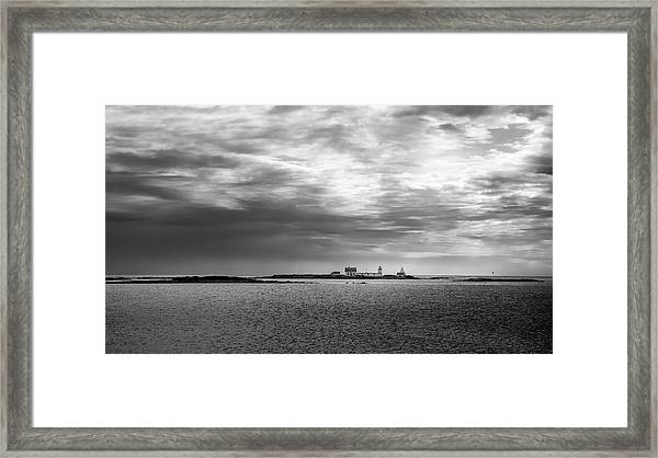 Goat Island Light, Cape Porpoise, Maine Framed Print