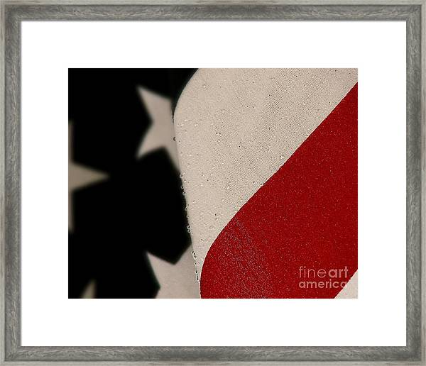 God Bless The U. S. A. Framed Print
