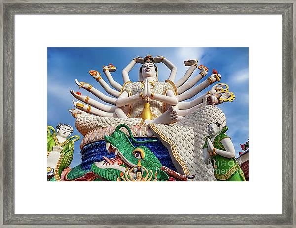Goddess Of Compassion  Framed Print