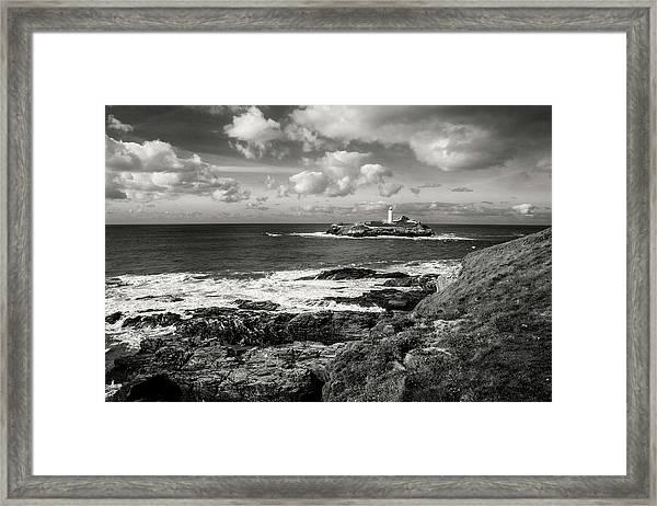Godrevy Lighthouse 1 Framed Print