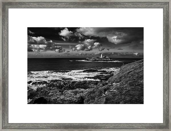Godrevy Lighthouse 2 Framed Print
