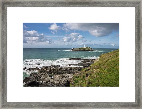 Godrevy Lighthouse 3 Framed Print