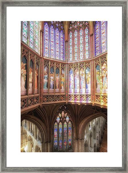 Gods Colors Framed Print