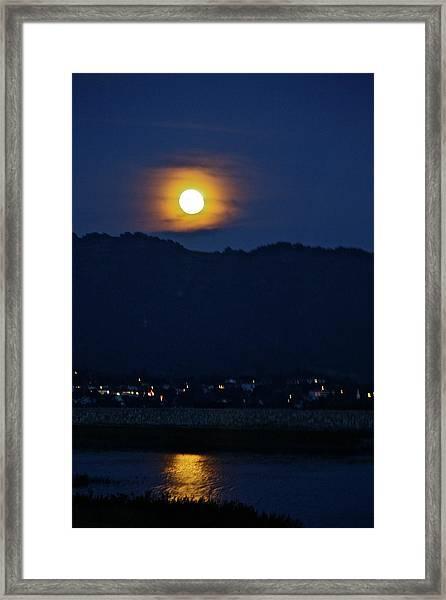 God's Nightlight Framed Print