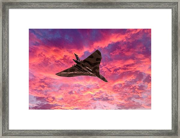 Going Out In A Blaze Of Glory Framed Print
