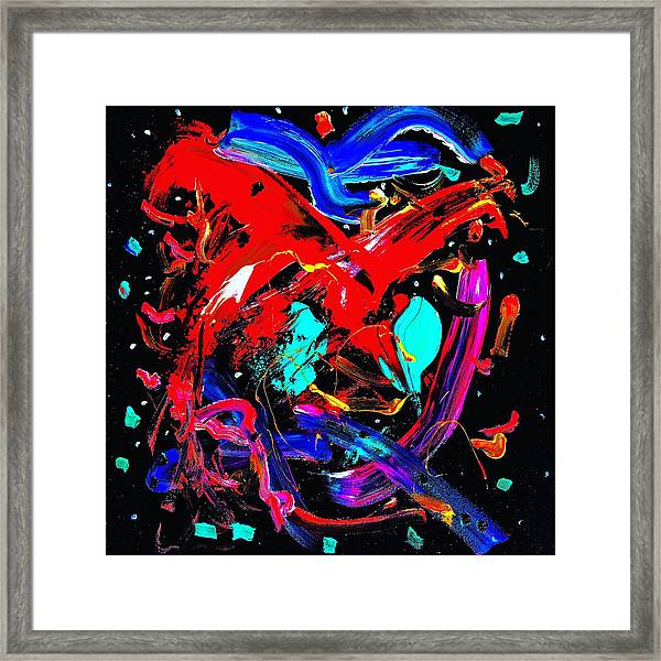Living Heart Framed Print