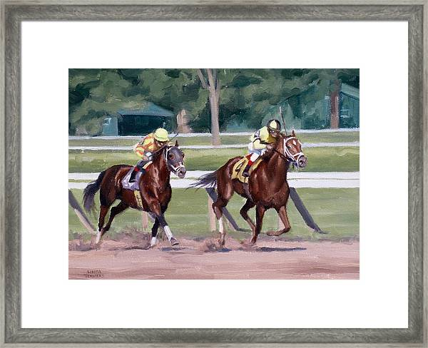 Going To The Whip Framed Print