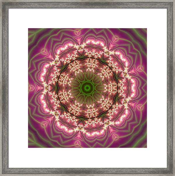 Framed Print featuring the digital art Gold 2 by Robert Thalmeier