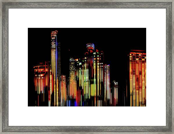 Gold Coast Rising Framed Print
