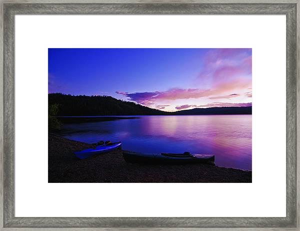 Gold Lake Sunrise Framed Print