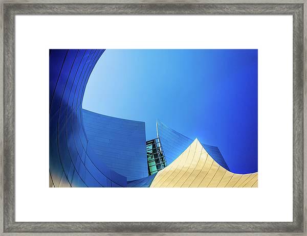 Gold Mountain Framed Print by Az Jackson
