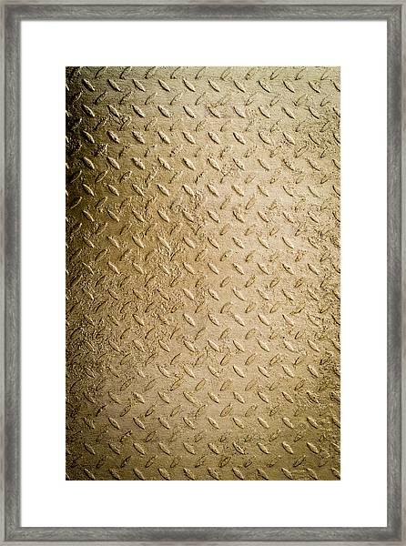 Grit Of Goldfinger Framed Print