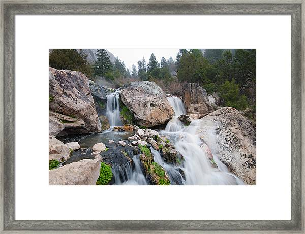 Goldbug Hot Springs Framed Print