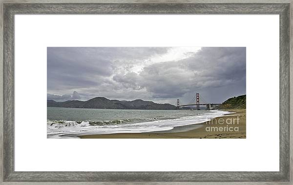 Golden Gate Study #2 Framed Print